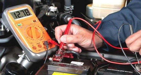 Напряжение аккумулятора автомобиля на Kolesa-Darom.ru